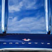 1961 Chevrolet Corvette Grille Art Print