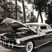 1951 Mercury Classic Car Photograph 006.01 Art Print