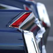 1962 Cadillac Deville Taillights Art Print