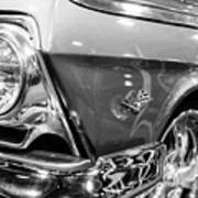 1962 Chevrolet Belair Bubbletop Art Print