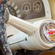 1962 Chevy Stering Wheel Art Print