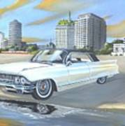 1962 Classic Cadillac Art Print