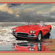 1962 Corvette Art Print