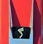 1962 Studebaker Avanti Badge Art Print