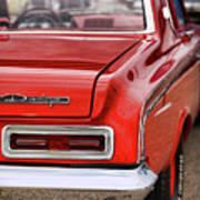 1963 Dodge 426 Ramcharger Max Wedge Art Print by Gordon Dean II