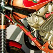 1964 Ducati 250cc F3 Corsa Motorcycle -2727c Art Print