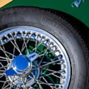 1964 Morgan 44 Spare Tire Art Print