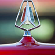 1964 Plymouth Hood Ornament Art Print