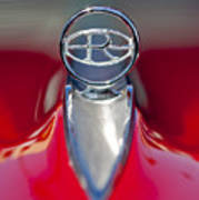 1965 Buick Riviera Hood Ornament Art Print