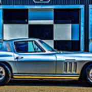 1965 Corvette Fuelie Art Print