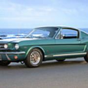 1965 Ford Mustang Fastback II Art Print
