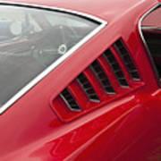 1965 Mustang Fastback Art Print