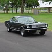 1965 Mustang Fastback Kearney Art Print