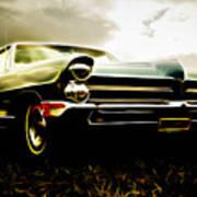 1965 Pontiac Bonneville Print by Phil 'motography' Clark