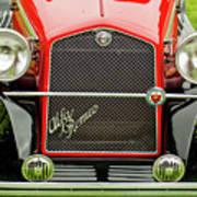 1966 Alfa Romeo Quattro Route 4r Grille Art Print