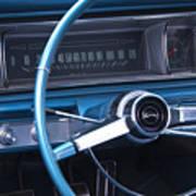 1966 Chevrolet Impala Dash Art Print