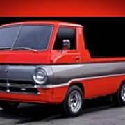 1966 Dodge A100 Pickup Art Print