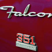1966 Ford Falcon Art Print