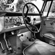 1966 International Scout Driver's Side B Art Print