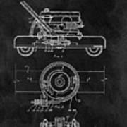 1966 Lawn Mower Patent Image Art Print