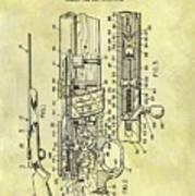 1966 Rifle Patent Art Print