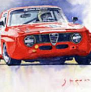 1967 Alfa Romeo Gta 1600 Groupe 5  Art Print