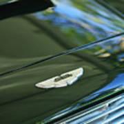 1967 Aston Martin Db6 Coupe Hood Emblem Art Print