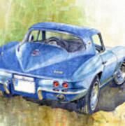 1967 Chevrolet Corvette C2 Stingray  Art Print