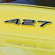 1967 Chevrolet Corvette Sport Coupe Emblem Art Print