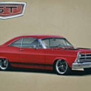 1967 Ford Fairlane Gt Art Print