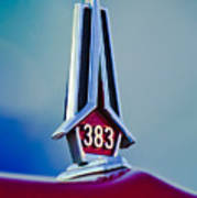 1967 Plymouth Saturn Hood Ornament Art Print
