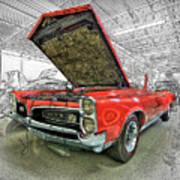1967 Pontiac Gto American Muscle Car Art Print
