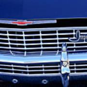 1968 Chevrolet Impala Ss Grille Emblem Art Print