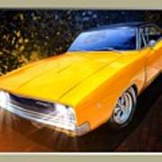 1968 Dodge Charger Coupe Art Print
