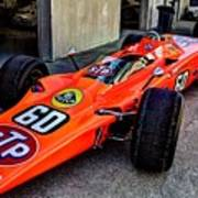 1968 Lotus 56 Turbine Indy Car #60 Angle Art Print