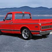 1969 Chevrolet Cst10 Pickup II Art Print