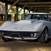 1969 Corvette Lt1 Coupe II Art Print