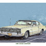 1969 Dodge Charger Art Print