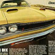 1969 Dodge Coronet Super Bee Art Print
