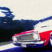 1969 Ford Falcon Futura Art Print