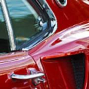 1969 Ford Mustang Mach 1 Side Scoop Art Print