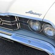 1969 Mercury Montego Mx Grille With Headlights And Logos Art Print