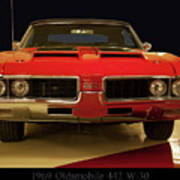 1969 Oldsmobile 442 W-30 Art Print