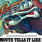 1969 Plymouth Gtx - Plymouth Tells It Like It Is Art Print