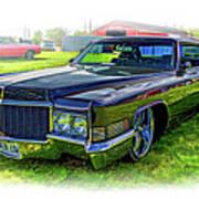 1970 Cadillac Deville - Vignette Art Print