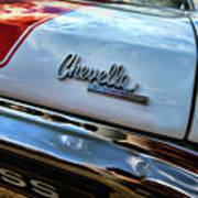 1970 Chevy Chevelle Ss 396 Ss396 Art Print