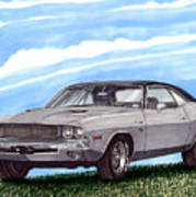 1970 Dodge Challenger Art Print