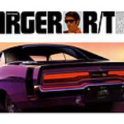 1970 Dodge Charger Rt Art Print