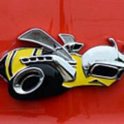 1970 Dodge Super Bee Emblem Art Print