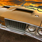 1970 Oldsmobile 442 W-30 Art Print